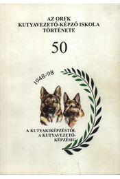 Az ORFK kutyavezető-képző iskola története 50 - Régikönyvek