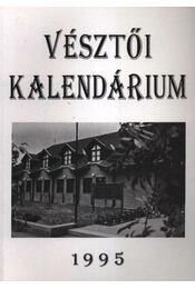 Vésztői Kalendárium 1995 - Régikönyvek