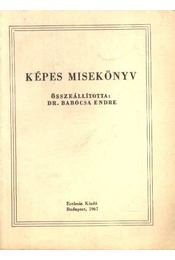 Képes misekönyv - Régikönyvek