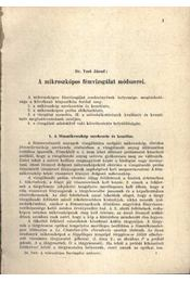 A mikroszkópos fémvizsgálat módszerei - Régikönyvek