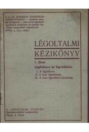 Légoltalmi kézikönyv 1. füzet - Régikönyvek