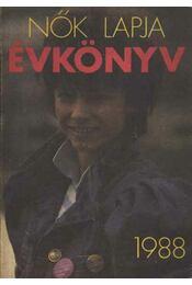 Nők Lapja Évkönyv 1988. - Régikönyvek