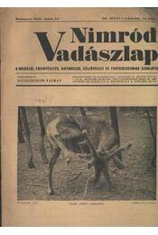Nimród Vadászlap 1948. júl. 15. - Régikönyvek