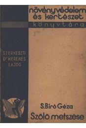 Szőlő metszése - Régikönyvek