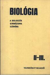 Biológia II-III. - Régikönyvek
