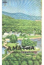 A Mátra turistatérképe - Régikönyvek