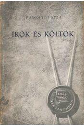 Írók és költők - Régikönyvek