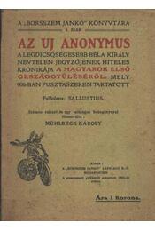 Az uj anonymus - Régikönyvek