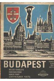 Budapest (belső területe térkép) - Régikönyvek