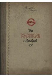 Das Kanthal Handbuch 1950 - Régikönyvek