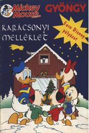 Mickey Mouse magazin karácsonyi melléklet - Régikönyvek