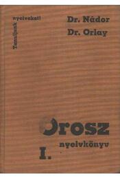 Orosz nyelvkönyv I. - Régikönyvek