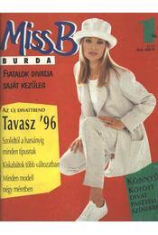 Miss B Burda 96/1 tavasz - Régikönyvek