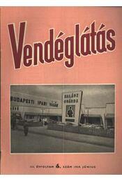 Vendéglátás III. évfolyam 6. szám 1959. június - Régikönyvek
