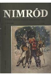 Nimród 1970. évfolyam (teljes) - Régikönyvek