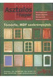 Magyar Asztalos és Faipar 2001/4. - Régikönyvek