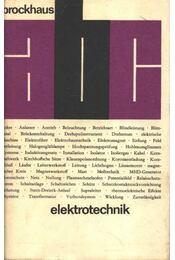 Elektrotechnik - Régikönyvek