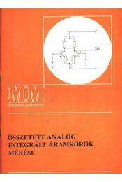 Összetett analóg integrált áramkörök mérése - Régikönyvek