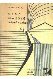 Tetőszellőzők méretezése - Régikönyvek
