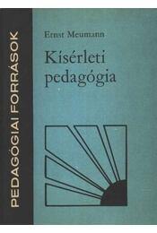 Kísérleti pedagógia - Régikönyvek