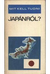 Mit kell tudni Japánról? - Régikönyvek