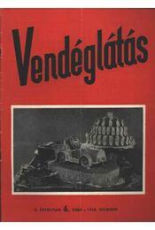 Vendéglátás II. évfolyam 6. szám 1958. december - Régikönyvek