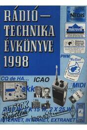 Rádiótechnika évkönyve 1998 - Régikönyvek