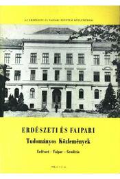 Erdészeti és faipari Tudományos közlemények 1989. 1-2. sz. - Régikönyvek