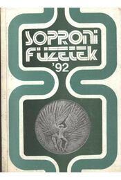 Soproni füzetek '92 - Régikönyvek