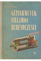 Gépjárművek villamos berendezései - Régikönyvek