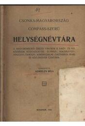 Csonka-Magyarország compass-szerű helyiségnévtára - Régikönyvek