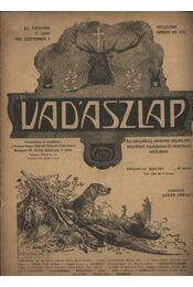 Vadászlap 1920. szeptember 5. - Régikönyvek