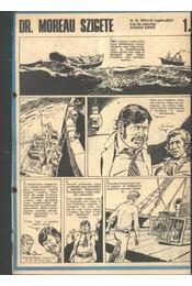 Dr. Moreau szigete - Régikönyvek