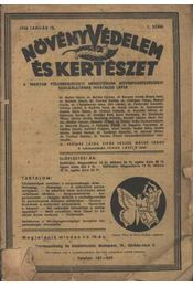 Növényvédelem és kertészet 1948/1. sz. - Régikönyvek