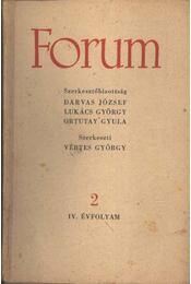 Forum IV. évfolyam 2 - Régikönyvek