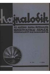 Hajnalodik - IV. évf. 9. - Régikönyvek