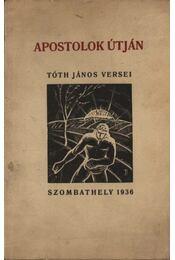 Apostolok útján (dedikált) - Régikönyvek