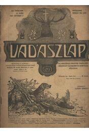 Vadászlap 1920. október 5. - Régikönyvek