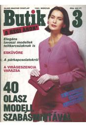 Butik 1993/3. - Régikönyvek