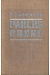 Parlez russe - Régikönyvek