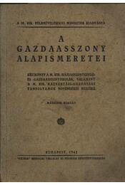 A gazdaasszony alapismeretei - Régikönyvek
