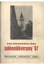 Felszabadulási sakkemlékverseny '87 - Régikönyvek