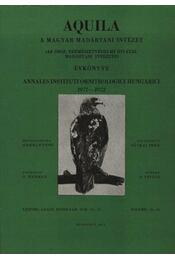 Aquila évkönyv 1972-1972. (78-79) - Régikönyvek