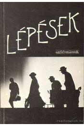 Lépések - Ingmar Bergman, Samuel Beckett, WILSON, LANFORD, Mrozek, Slawomir, Gaál Erzsébet - Régikönyvek