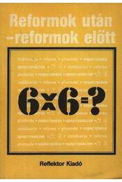 Reformok után-reformok előtt - Régikönyvek