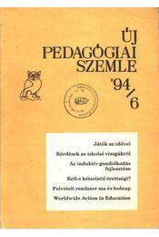 Új pedagógiai szemle '94/6 - Régikönyvek