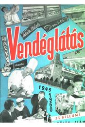 Vendéglátás 1960. jubileumi különszám - Régikönyvek
