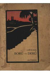 Ború-derű (dedikált) - Régikönyvek