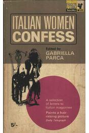 Italian Women confess - Régikönyvek