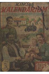 Kincses Kalendárium 1951. - Régikönyvek